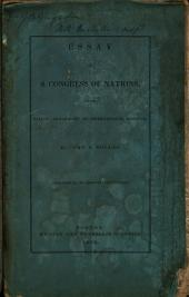 Essay on a Congress of Nations for the Adjustment of International Disputes and for the Promotion of Universal Peace Without Resort to Arms