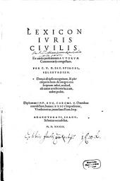 Lexicon iuris civilis
