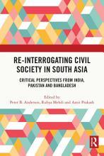 Re Interrogating Civil Society in South Asia PDF