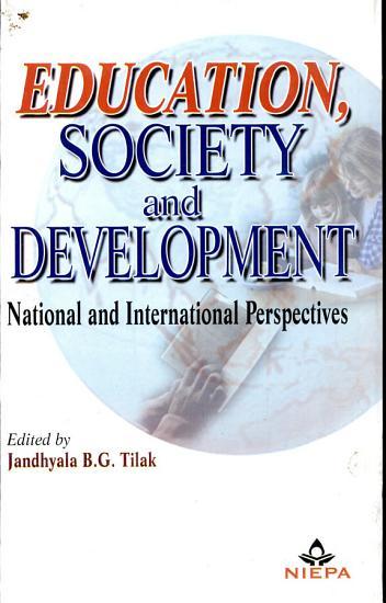 Education  Society  and Development PDF