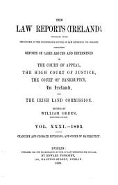 The Law Reports (Ireland): Volume 31