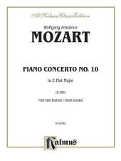 Piano Concerto No. 10 in E-Flat Major for Two Pianos, K. 365: Piano Duo (2 Pianos, 4 Hands)