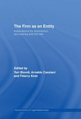 The Firm as an Entity PDF