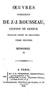 Œuvres complètes: Volume2