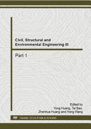 Civil, Structural and Environmental Engineering III