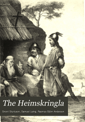 The Heimskringla: a history of the Norse kings, Volume 1