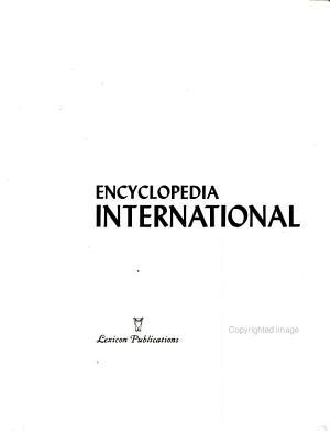 Encyclopedia International PDF