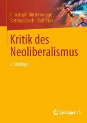 Kritik des Neoliberalismus: Ausgabe 3