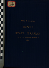 Report of the State Librarian
