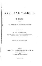 Axel and Valborg: A Tragedy