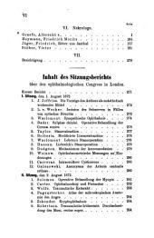 Klinische Monatsblaetter fuer Augenheilkunde: Band 10