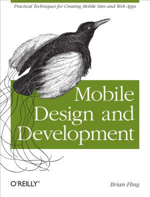 Mobile Design and Development PDF