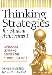 Thinking Strategies For Student Achievement Book PDF