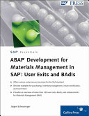ABAP Development for Materials Management in SAP PDF