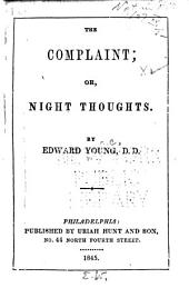 The Complaint: Or, Night Thoughts