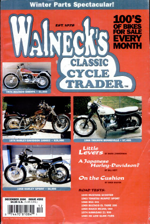WALNECK S CLASSIC CYCLE TRADER PDF