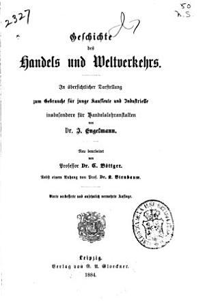 Geschichte des Handels und Weltverkehrs PDF