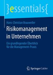 Risikomanagement in Unternehmen: Ein grundlegender Überblick für die Management-Praxis
