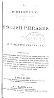 A Dictionary of English Phrases with Illustrative Sentences PDF