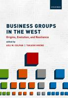 Business Groups in the West PDF