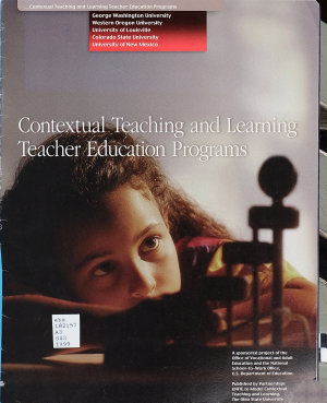 Contextual Teaching and Learning Teacher Education Programs PDF