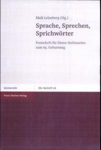 Sprache  Sprechen  Sprichw  rter PDF