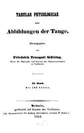 Tabulae phycologicae oder Abbildungen der Tange