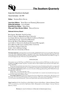 The Southern Quarterly PDF