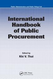International Handbook of Public Procurement