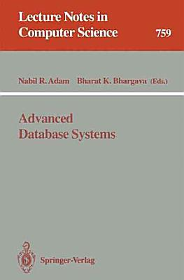 Advanced Database Systems PDF
