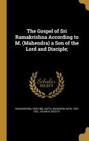 GOSPEL OF SRI RAMAKRISHNA ACCO Book