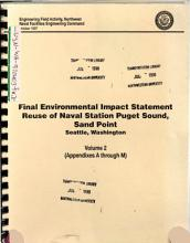 Puget Sound Naval Station  Sand Point  Disposal and Reuse  King County PDF
