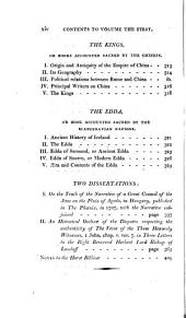 The Philological and Biographical Works of Charles Butler, Esquire, of Lincoln's-Inn: Horae biblicae