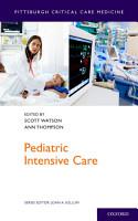 Pediatric Intensive Care PDF