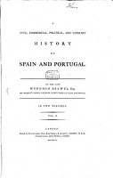 A Civil  Commercial  Political  And Literary History Of Spain And Portugal PDF