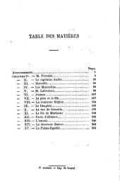 Les muscadins: Volume1