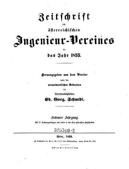 Zeitschrift des   sterreichischen Ingenieur Vereines PDF