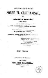 Estudios filosóficos sobre el cristianismo: Volumen 3