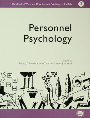 A Handbook of Work and Organizational Psychology PDF