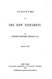 Synonyms of the New Testament: Volume 2