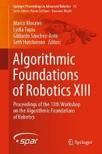 Algorithmic Foundations of Robotics XIII