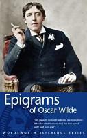 Epigrams of Oscar Wilde PDF