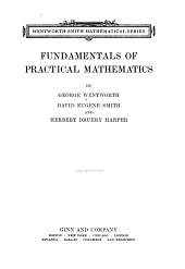 Fundamentals of practical mathematics