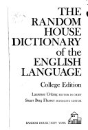 The Random House Dictionary of the English Language PDF