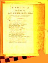 Nadzieia, powieść [in verse].