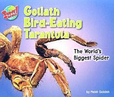 Goliath Bird eating Tarantula PDF