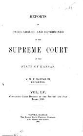 Kansas Reports: Volume 55