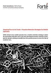 Stopping Churn in Its Tracks – Proactive Retention Strategies for Mobile Operators