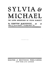 Sylvia & Michael: The Later Adventures of Sylvia Scarlett