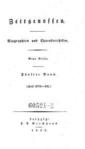 Zeitgenossen. Biographien und Charakteristiken: Ausgabe 5